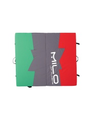 CRASH PAD MILO red/green/black