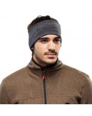 Opaska 2 Layers Midweight Merino Wool Headband Buff CASTLEROCK GREY MULTI STRIPES