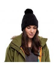 Czapka Buff Knitted & Fleece Hat Airon BLACK