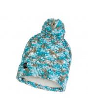 Czapka Buff Knitted & Fleece Hat Livy AQUA