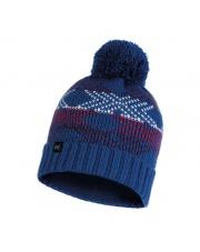 Czapka Buff Knitted & Fleece Hat Garid BLUE