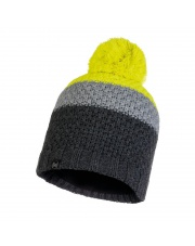 Czapka Buff Knitted & Fleece Hat Jav GREY