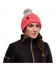 Czapka Buff Knitted & Fleece Hat Janna CLOUD