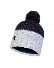 Czapka Buff Knitted & Fleece Hat Janna NIGHT BLUE