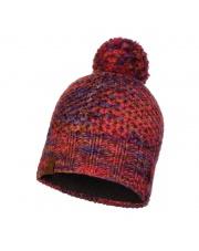 Czapka Zimowa Buff Knitted & Fleece Hat Margo MAROON