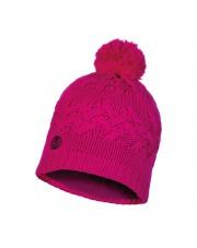 Czapka Zimowa Buff Knitted & Fleece Hat Savva MAGENTA