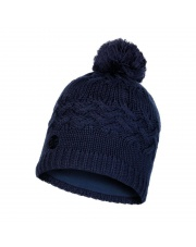 Czapka Zimowa Buff Knitted & Fleece Hat Savva NIGHT BLUE