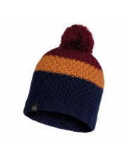 Czapka Zimowa Buff Knitted & Fleece Hat Jav NIGHT BLUE