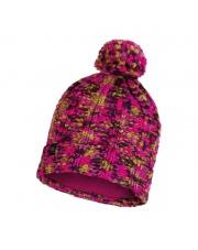 Czapka Zimowa Buff Knitted & Fleece Hat Livy MAGENTA