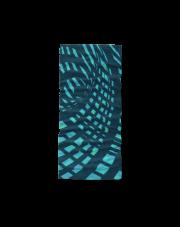 Chusta 4 fun geomentric blue