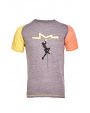 Koszulka męska KINDI purple velvet