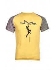Koszulka męska KINDI yellow apple