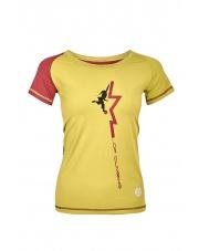 Damska koszulka SALUN LADY mirabelle/burgundy