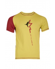 Koszulka SALUN mirabelle/burgundy
