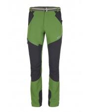 Letnie spodnie trekingowe Milo TENALI forest green/titanium grey