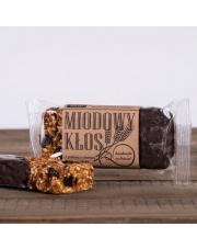 Baton energetyczny miodowy kłos z ciemną czekoladą 85g