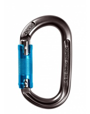 Karabinek Osprey Triple - anthracite/blue