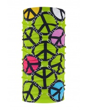 CHUSTA MILO  SCARF lime green/black
