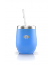 GSI/ GLACIER STAINLESS TUMBLER 355ml, blue aster