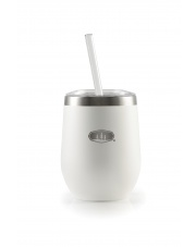 GSI/ GLACIER STAINLESS TUMBLER 355ml, white