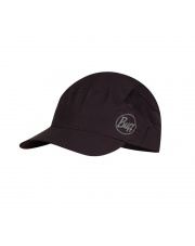 Letnia czapka BUFF® Czapka Pack Trek Cap SOLID BLACK