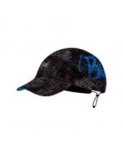 Letnia czapka BUFF® Czapka z daszkiem Pack Run Cap Patterned RUSH GRAPHITE