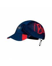 Letnia czapka BUFF® Czapka z daszkiem Pack Run Cap Patterned BASES MULTI S/M Adult