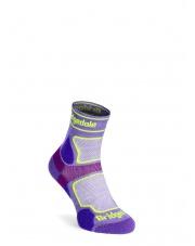 Skarpety Bridgedale Ultralight T2 Coolmax Sport 3/4 - purple