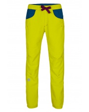 Damskie spodnie wspinaczkowe JOTE LADY citronelle/dark violet