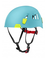 Kask wspinaczkowy Moon - light blue/lime