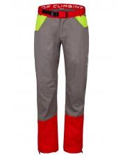 Spodnie wspinaczkowe  KULTI grey/red