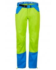 Spodnie wspinaczkowe  KULTI lime green/blue