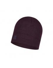 Czapka BUFF® Czapka Merino Heavyeight Hat DEEP PURPLE