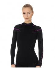 Bluza damska THERMO czarny/różowy LS13100A