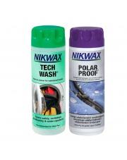 Zestaw Nikwax Tech Wash+Polar Proof 2x300ml