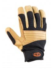 Rękawiczki Climbing Technology Progrip Plus - black/beige